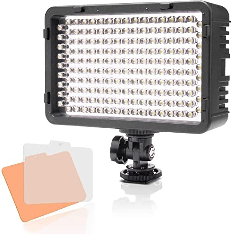 Selens LED 168 Luz Regulable Ultra Alta Potencia Panel Cámara ...