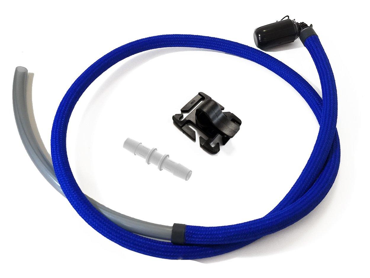 Hydration Tube Covers Tubo de repuesto para sistema de hidratación, 122 cm, color azul rHTR-BL