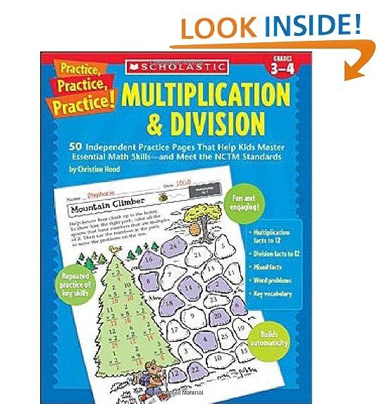 Multiplication Practice: Amazon.com