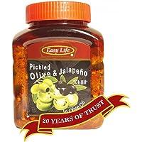Easy Life Pickled Olive & Jalapeno, 510g