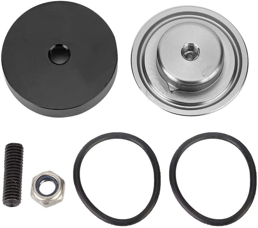 Aramox Wiper Plug,Car Rear Wiper Block off Delete Kit Plug Grommet Caps Fit for Honda Acura CRX