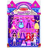 Melissa & Doug Puffy Sticker Set: Princess - 67 Reusable Stickers