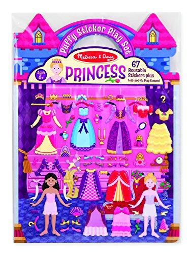 Melissa & Doug Princess Puffy Sticker Play Set
