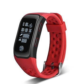 Reloj Inteligente Resistente al Agua IP68, GPS,Monitor del Ritmo Cardíaco,Podómetro,
