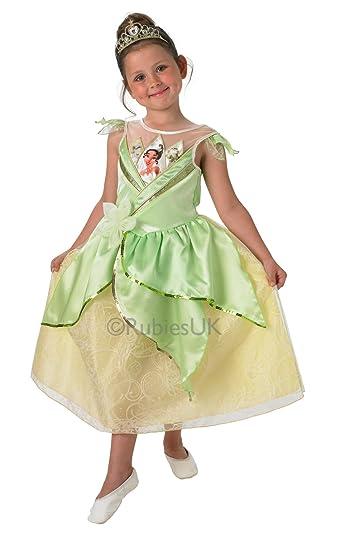 Rubies Disney Princess Tiana Schimmer Kinder Kostum Fasching