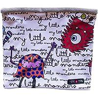 Tris&Ton bufanda para bebé niño niña invierno, braga de cuello (Trisyton) (Monsters)