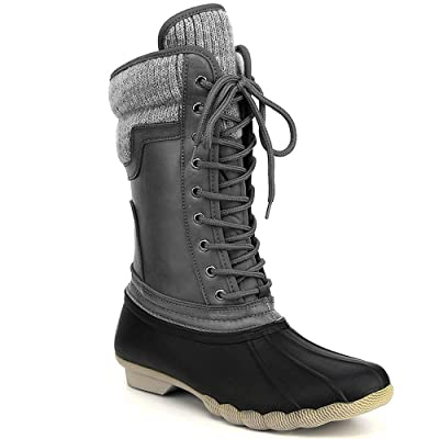 Refresh Women's Waterproof Rain Boots: Shoes