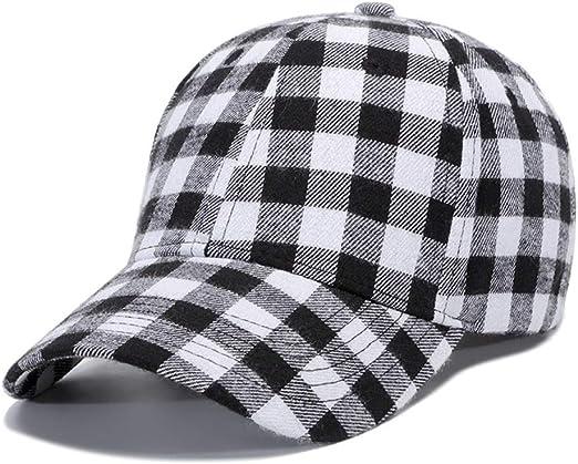 sdssup Sombrero a Cuadros Gorra Macho Negro Blanco Artículo No ...