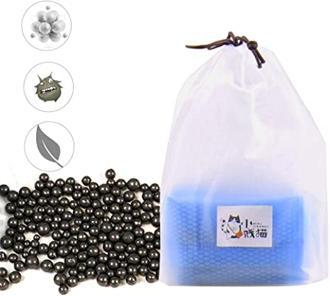 cuckoo-X Perlas desodorantes para Arena de Gato, sin Aroma ...