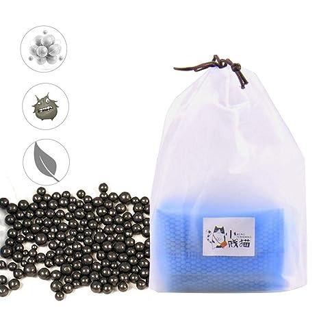 cuckoo-X Perlas desodorantes para Arena de Gato, sin Aroma desodorizante – Elimina Completamente