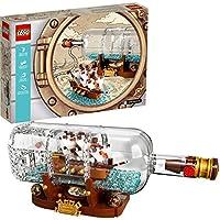 LEGO IDEAS 21313 Ship in a Bottle 962 piece set
