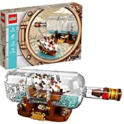 LEGO Ideas Ship in a Bottle 21313 Building Kit (962 Piece)