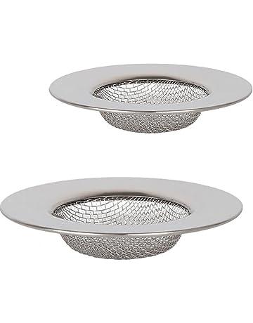 2 piezas de filtro de acero inoxidable b20a5a4b03b7