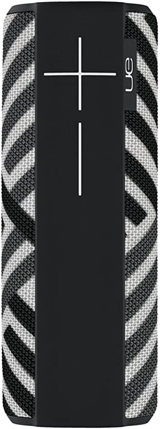 Ultimate Ears Megaboom Tragbarer Bluetooth Lautsprecher Satter Tiefer Bass Wasserdicht App Navigation Kann Mit Weiteren Lautsprechern Verbunden Werden 20 Stunden Akkulaufzeit Zebra Schwarz Weiß Audio Hifi