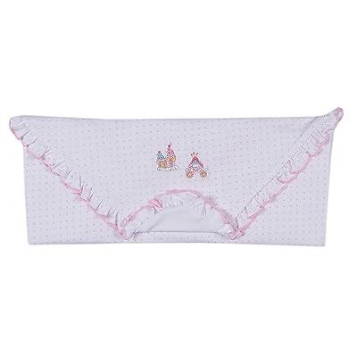 Kissy Kissy Baby-Girls Infant Princess Carriage Print Receiving Blanket