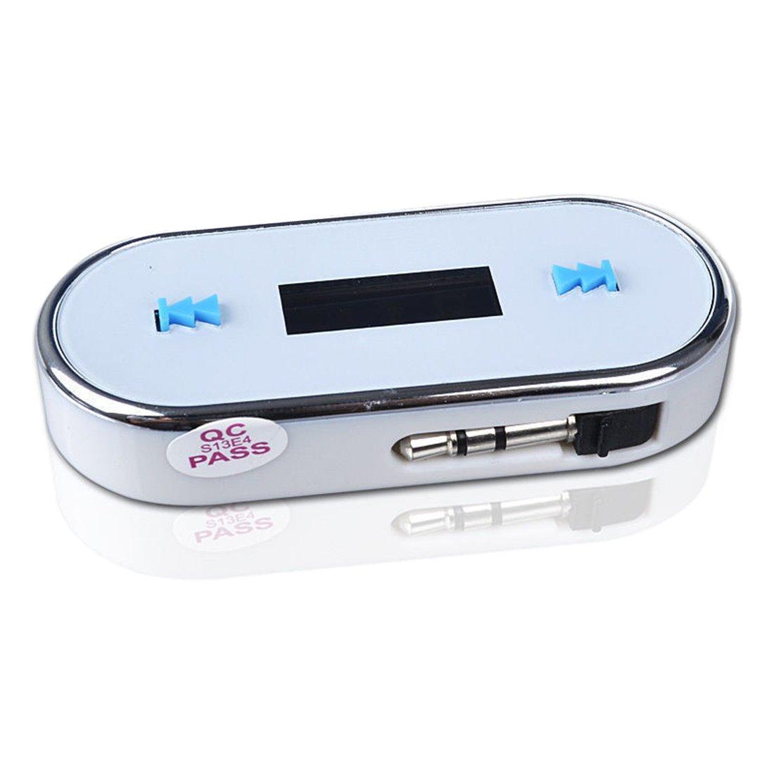 TOOGOOワイヤレスBluetoothカーキットFMトランスミッターmp3 USB LCDハンズフリーfor携帯電話 B078X6ZPK1