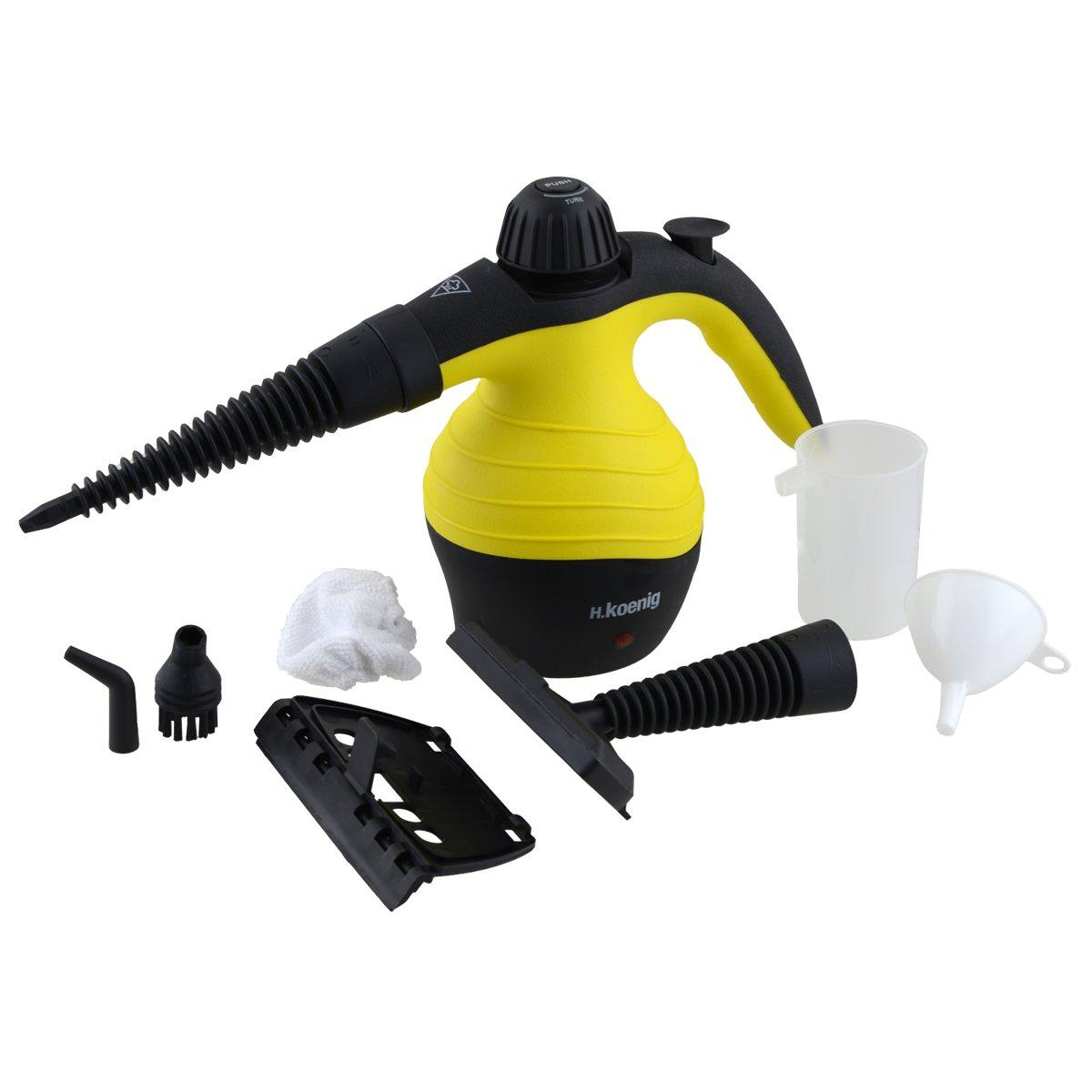 Limpiador a vapor compacto H.Koenig NV60 por solo 22,03€