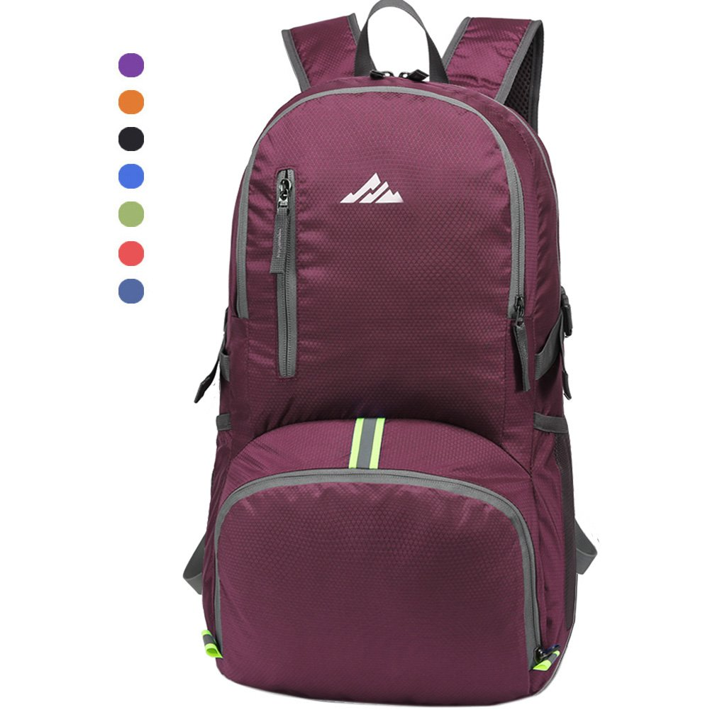 956151eb524f Seenlast 30L Ultra Lightweight Travel Hiking Backpack Unisex Water Resistant  Packable Durable Daypack for Men   Women Outdoor ...