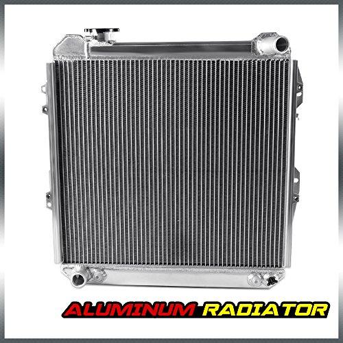 2 Row Aluminum Racing Cooling Radiator Stop Leak For 1988-1995 TOYOTA 3.0L PICKUP/4RUNNER V6 4WD (Toyota Truck Radiator)