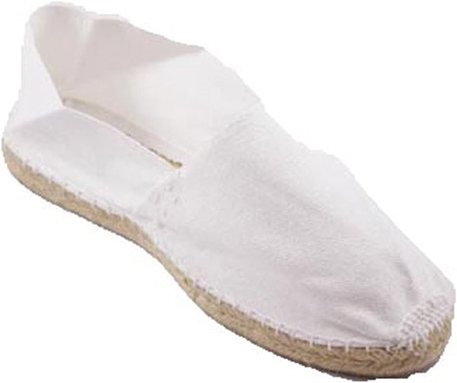 Alpargatas de Esparto Plana Made in Spain en Blanco