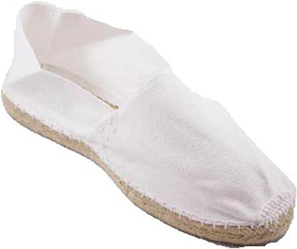 Alpargatas de Esparto Plana Made in Spain en Blanco: Amazon.es: Zapatos y complementos