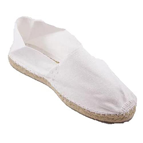 98e0d99986e Alpargatas de Esparto Plana Made in Spain en Blanco  Amazon.es  Zapatos y  complementos