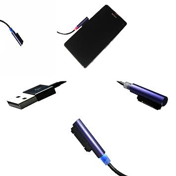 Cargador magnético para Sony Xperia Z3 y Z3 Compact, Sony Xperia ...