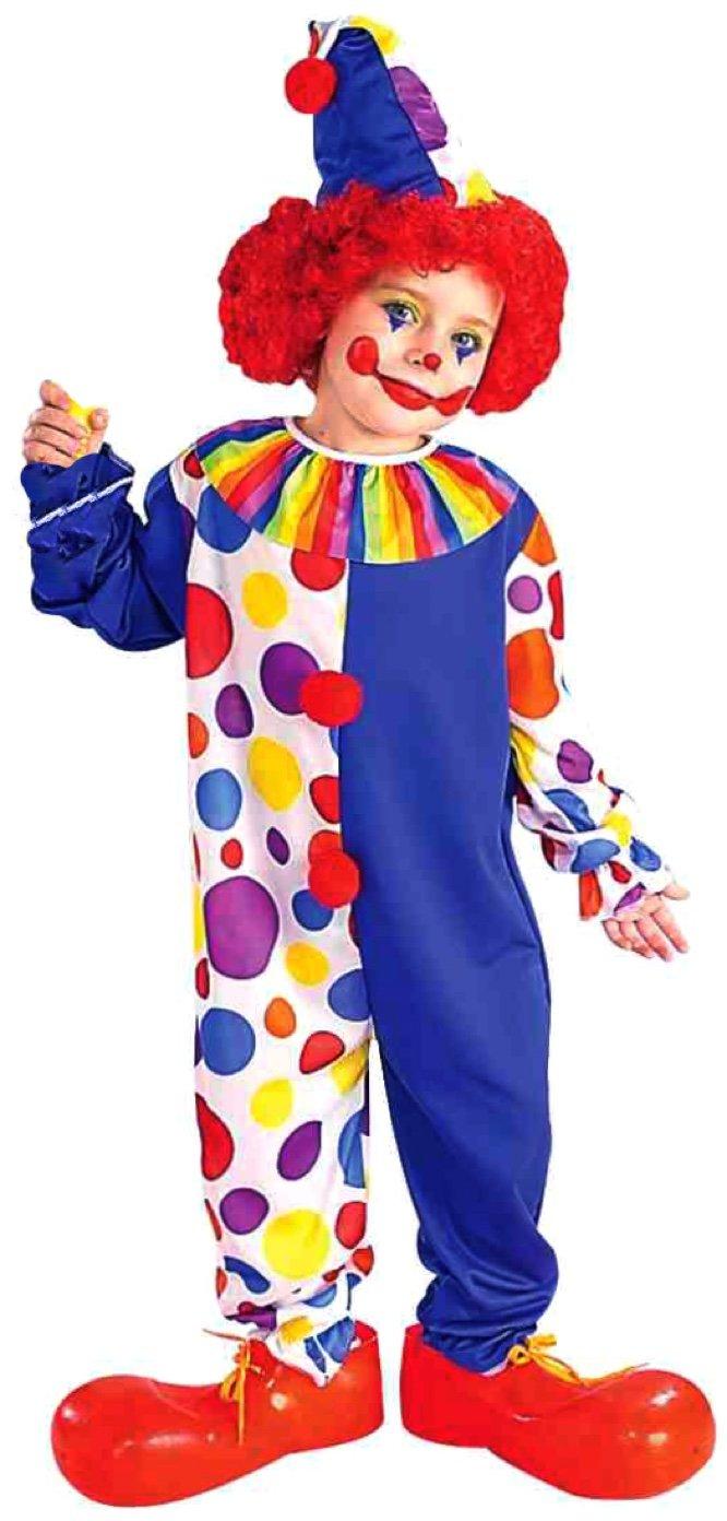sc 1 st  Amazon.com & Amazon.com: Forum Novelties Clown Childu0027s Value Costume: Toys u0026 Games