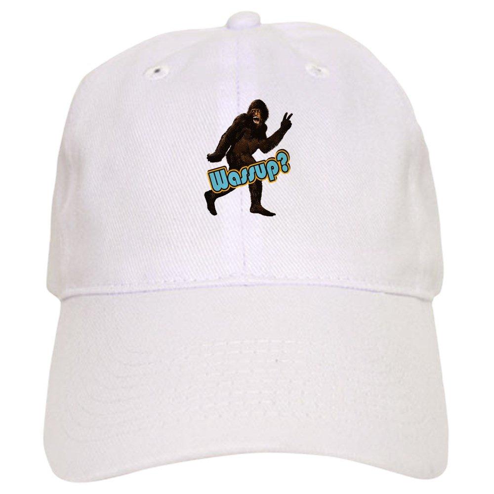 eef579acb63 Amazon.com  CafePress - Bigfoot Yeti Sasquatch Wassup - Baseball Cap with  Adjustable Closure