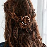 Best Hair Hoop With Roses - Joyci 1Pcs Creative Hoop Round Ponytail Holder Women's Review