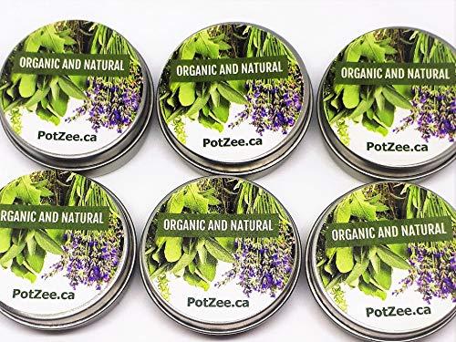 Sampler Set of 6 - Organic Herbal Smoking Blend, Herbal Smoke, Herbal Mixture, 100% Natural, Nicotine & Tobacco Free - Featured on Leafly