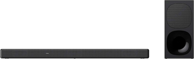 Sony HT-G700 - Barra de Sonido TV 3.1 (Dolby Atmos, DTS:X, subwoofer inalámbrico, Bluetooth, 400 W, óptimo para Experiencia de Cine en casa) Negro
