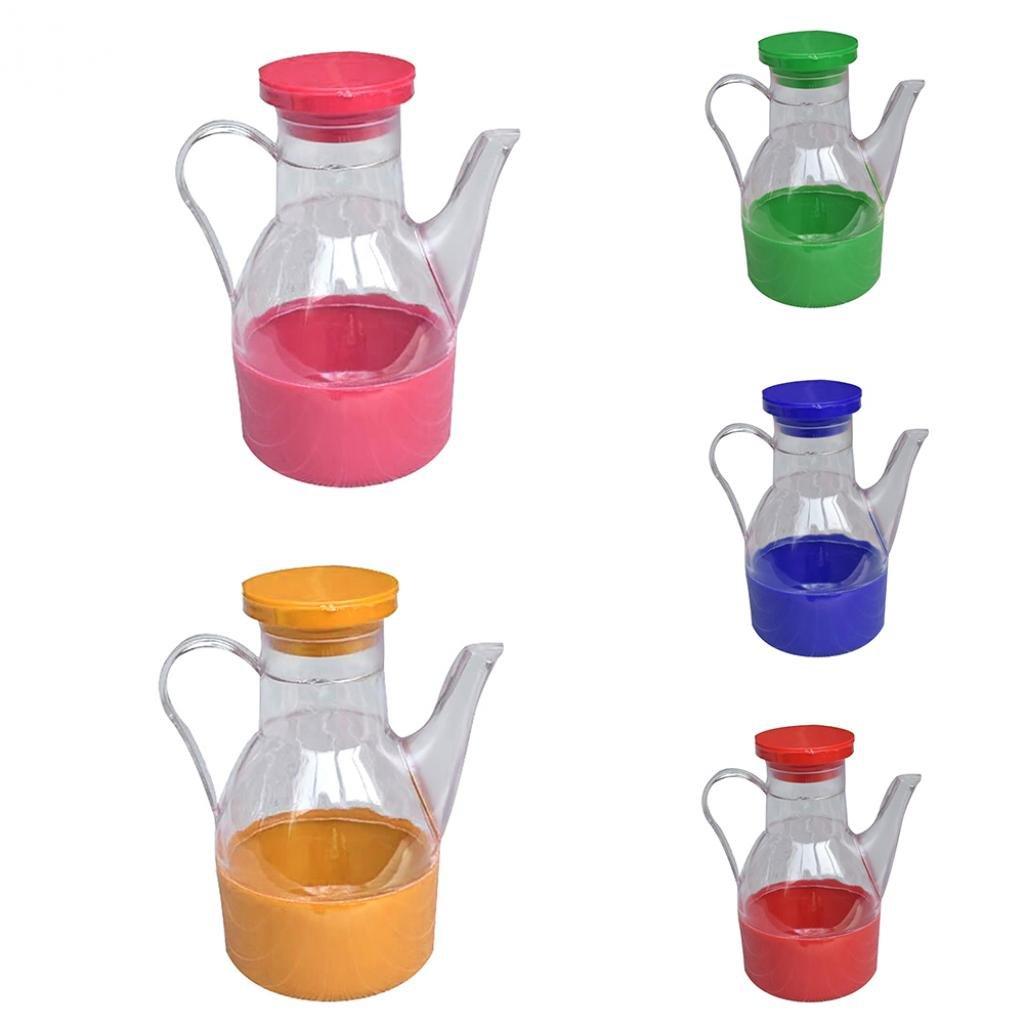 Kitchen Cooking Supplies Leak-proof Oil Vinegar Sauce Bottle Storage Dispenser - Random Color SoundsBeauty