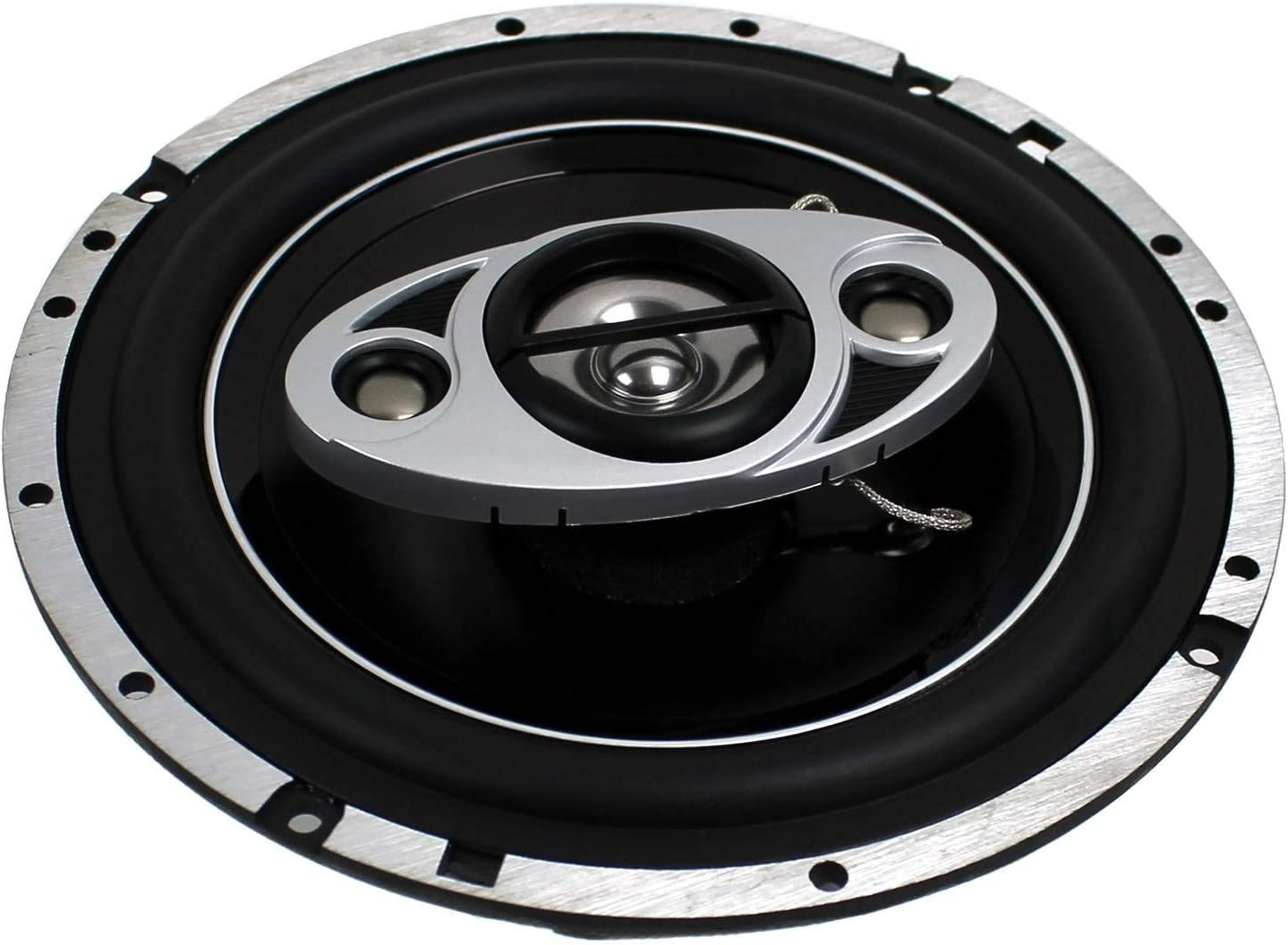 2 New BOSS Audio P65.4C 6.5 4-Way 400W Car Coaxial Speakers Stereo P654C