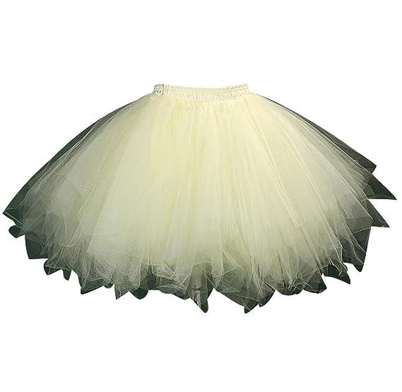 Faldas de Tul Cortas Falda Tutu Mujer Falda Tul Disfraz Fiesta ...