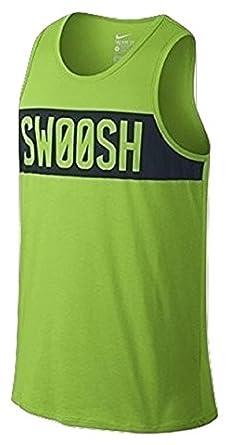 Nike Swoosh Block Men's Training Tank Top Green 779185 313
