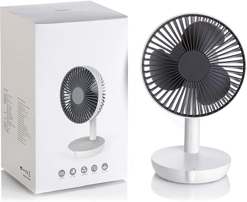 Desktop Fan USB Portable Fan Charging Model Silent Desktop Desktop Fan,Blue