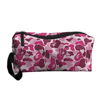 548965f8a175 Bape Camo Pink Toiletry Bag Multifunction Cosmetic Bag Portable Makeup  Pouch Travel Hanging Organizer Bag