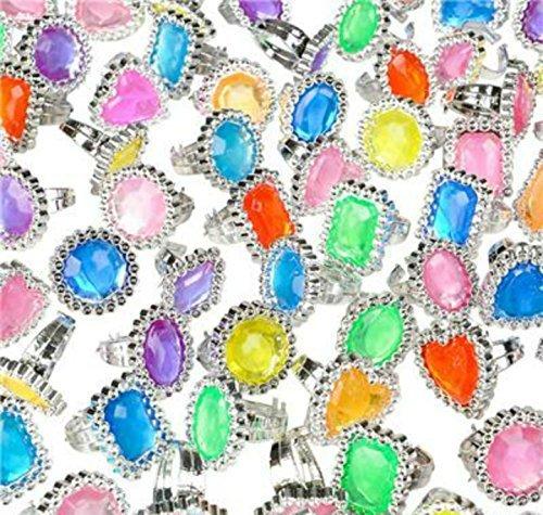 Play Kreative 144 Big Jewel Rings ~ 1