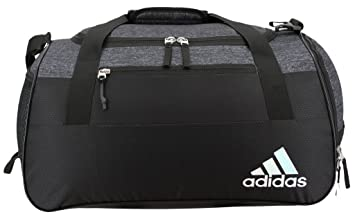 Adidas Womens Squad III Duffel Bag One Size Black Jersey