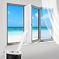 Sinwind Raamafdichting voor mobiele airconditioners, airconditioning, wasdrogers en afvoerluchtdroger, geschikt voor…