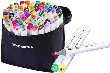 40 COLORI Marcatore permanente Penne Evidenziatore arte bambini disegno colorare il disegno