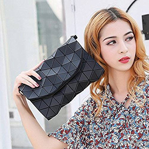Bag Messenger Shoulder YUHEQI Bag Small Handbag Bag Bag Modern Evening Red Messenger Elegant Evening Forearm Bag Shoulder Casual Women Handbag Travel Bags Geometric Black Bag Bag Shoulder SB5Bx1r