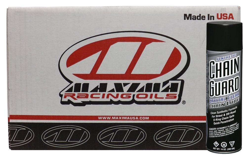 Maxima Racing Oils CS77920-12PK-12PK Synthetic Chain Guard Aerosol - 168 oz., (Pack of 12) by Maxima