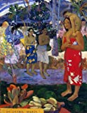 """18.05"""" x 24.05"""" Paul Gauguin Ia Orana Maria (also known as Hail Mary) premium canvas print reproduced to meet museum quality standards. Our Museum quality canvas prints are produced using high-precision print technology for a more accurate reproducti..."""