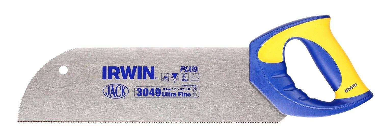 325 mm Acero inoxidable Jack 10503533 Serrucho de costilla Azul Amarillo