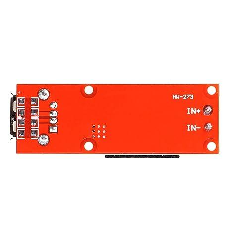 KIS3R33S Convertisseur DC 5 V 3 A avec port USB tension dentr/ée 7-24 V