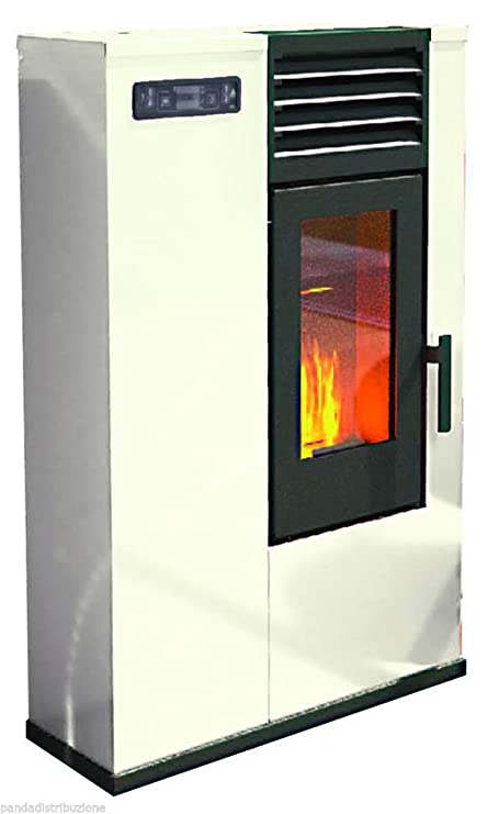 Estufas/Estufa punto Fuego Pellets Mod. Susy 7,5 kW, Marfil: Amazon.es: Bricolaje y herramientas