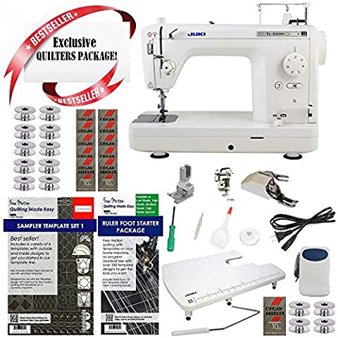 Juki TL2000QI Long-Arm Sewing & Quilting Machine w/ Limited time Quilters Package! - Long Arm Quilting