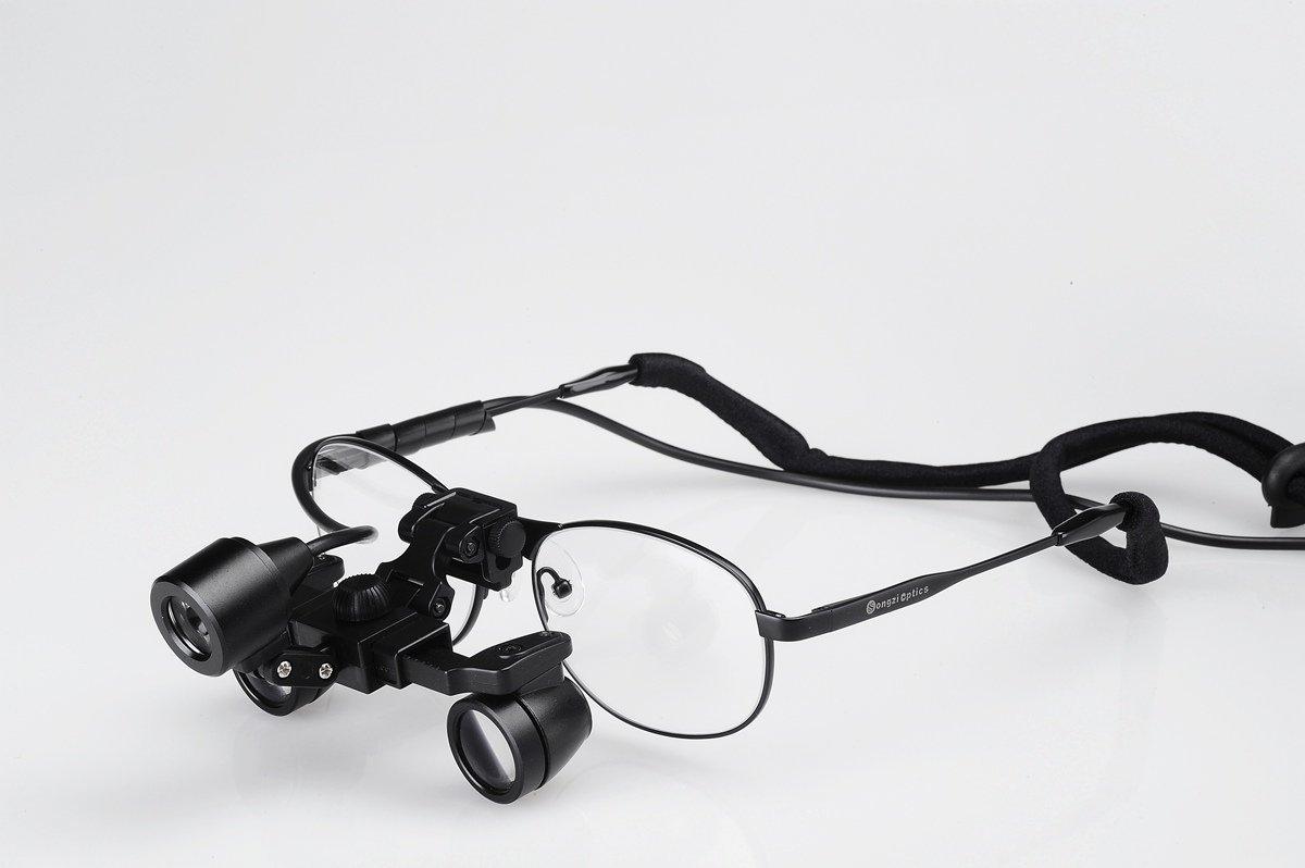 Songzi Optics Professional&promoting Waterproof Ultra-light 3x,depth of Field: 200mm, Working Distance:300-500mm,binocular Dental Loupes Surgical Medical Loupes & Led Light